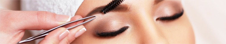 eyebrows and eyelashes  treatment at :izanco beauty salon in Nelspruit